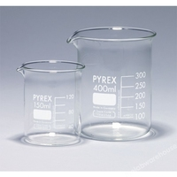 Beaker Pyrex 100ml Low Form With Spout , Grad