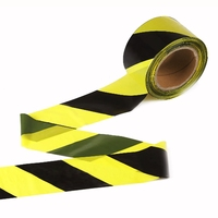 Chevron Standard Barrier Tape Black & Yellow