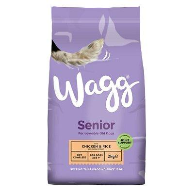 Wagg Complete Senior Dog Food 2kg