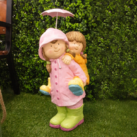 Koop Children with Umbrella - 53cm - Assorted