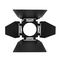 LDR Cetra/Suono/Tempo Fresnel 4Leaf Barn Door, Black