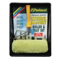 "Fleetwood 9"" Premium Masonry Roller & Tray Set"