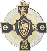 34mm GAA Medal (Gold / Navy)