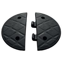 Jumbo 5cm End Caps Black