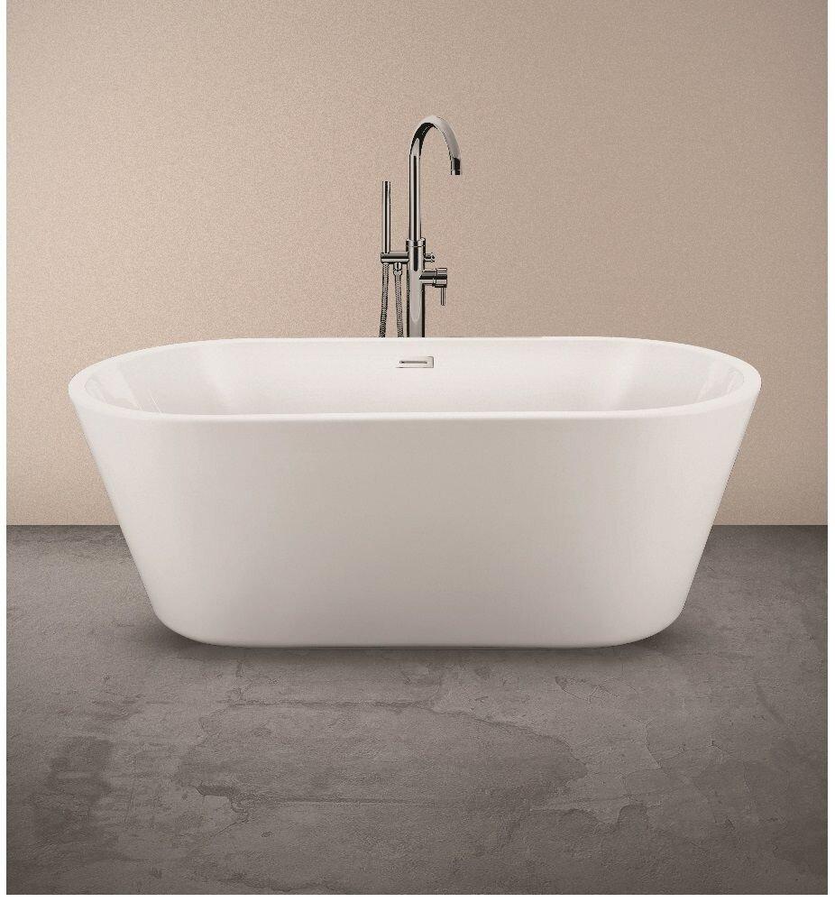 ZOE 1595X750X590MM FREESTANDING BATH