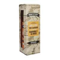 Man stuff Hair And Body Wash 250ml