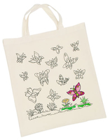 Cotton Bag printed B/Flies(P/Set Min 1)6/Set)