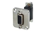 Neutrik NADB15FF | 15 Pin D-SUB feedthrough Connector