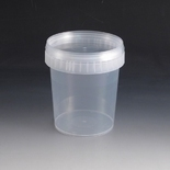 870ml Plastic Tub & Lid.