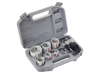 Bosch Electricians 9 Piece Holesaw Set in Carry Case 2608580804
