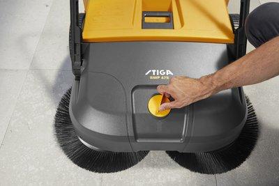 Stiga SWP 475 Push Sweeper