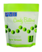 CB011 LIGHT GREEN CANDY MELTS 340g