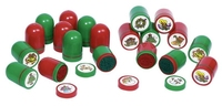 Christmas Self Inking Stamps (CDU of 60)