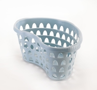 Hip Laundry Basket 60cm Dia Duck Egg