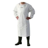 Waterproof Apron With Sleeves - Pu