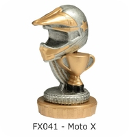Moto X Flex Figure 75mm (Silver & Gold)