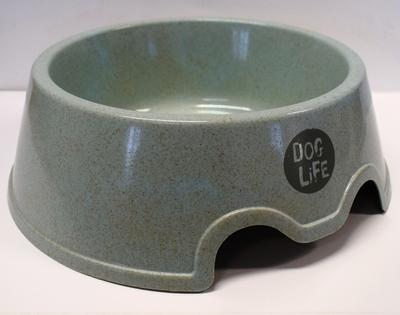 Dog Life Non-Tip Bio-Plastic Wheat Bowl 600ml x 1