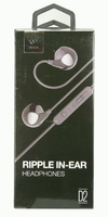 Devia Ripple Earphones in Black
