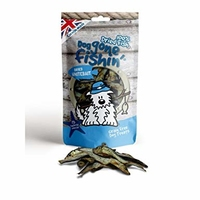 Dog Gone Fishin' Dried Whitebait 60g x 6
