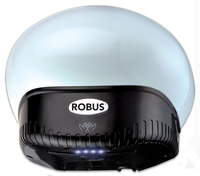 Robus Helm 890W Hand Dryer Satin Silver