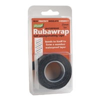 Rubawrap Self-Amalgamating Tape 25mmx5m Black (WT392)