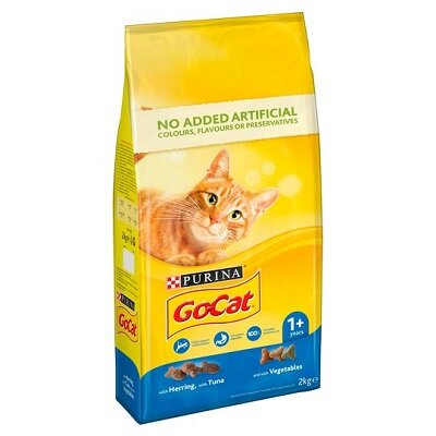 Go-Cat Comp Tuna, Herring & Vegetables 2kg