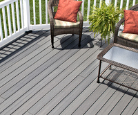 Composite Decking Timber Effect Silver Grey 140x22mm 3.6mtr - from €65 M2