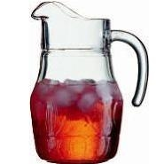 Fleur Ice-Lip Jug 2.25 Pint 1.3 litre Carton of 6