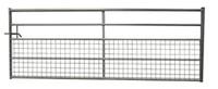3.6m  Metal Field Gate Half Mesh 5 Rail