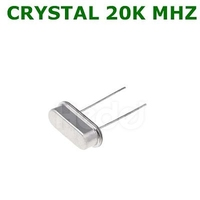 CRYSTAL 20K MHZ | CQ ORIGINAL