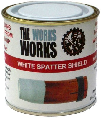 The Works - White Spatter Shield 250ml