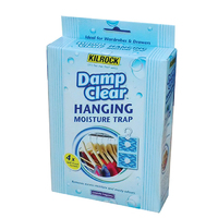 Kilrock Damp Clear Hanging Mopisture Trap 4pk