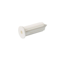 1140003 TCP0 White Plug (Pack 100)
