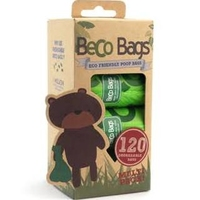 Beco Biodegradable Poop Bags - Multi Pack 120 Bags x 1