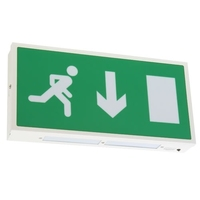 VENTILUX ARROW DOWN LED EXIT