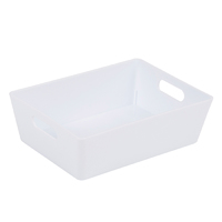 Wham Studio Tray 12x16.5cm Rectangular 3.01 Ice White