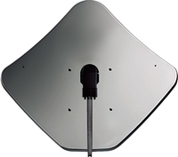 Fracarro Fracarro Penta 85cm Steel Grey Satellite Dish,  Wall & Pole Mount