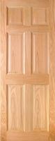 Indoors Hartford Pre-Fin Oak 6-Panel Engd Door 78X24