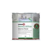 ZINSSER PERMA WHITE INTERIOR PAINT MATT 1LTR