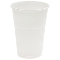 White Plastic Cup 200ml Ctn 1000