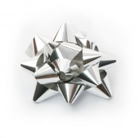 BUTTON METALLIC BOWS