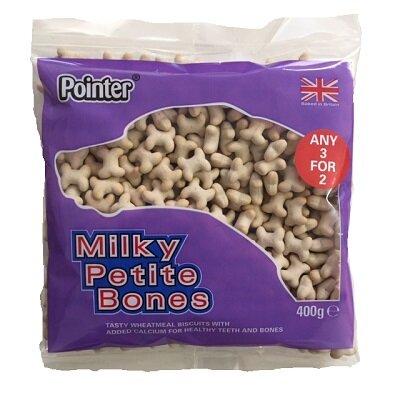 Pointer Milky Petite Bones 6 x 400g