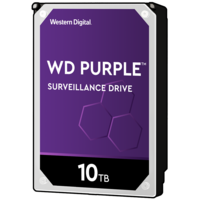 "WD PURPLE 10TB Surveillance 3.5"" HDD"