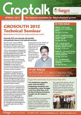 Crop Talk Spring 2013