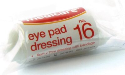N.16 Eye Pad Dressing