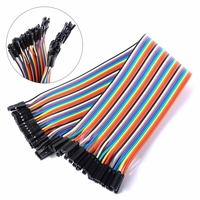 40 Pins Female to Female Breadboard Jumper Wires 20cm