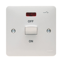 Sollysta 50A DP Cooker Switch 1G Neon
