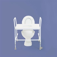 Raised Toilet Seat Frame (Bariatric)