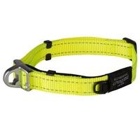 """Rogz Safety Collar Medium Dayglo 10""""-15"""" x 1"""