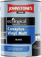 JOHNSTONES VINYL MATT EMULSION BLACK 1 LTR